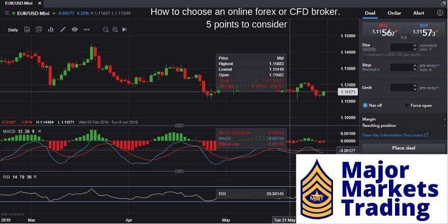 Hoe kies je een goede online broker. 5 punten om rekening mee te houden.