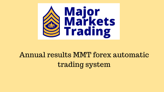 Annual results 2019 MMT forex automatic trading system